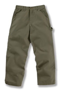 Carhartt Boys' Washed Duck Dungaree Pant CK8301