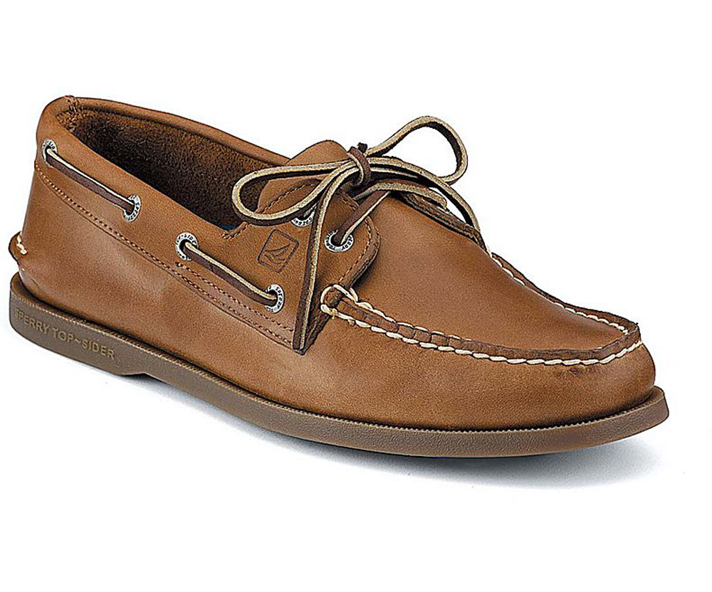 Sperry Top-Sider Men's Authentic Original Boat Shoe Sahara 0197640