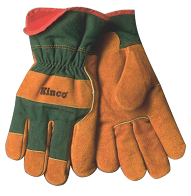 Kinco Men's shearling lined cowhide gloves