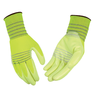 Kinco HI VISIBILTY Polyester Thread Gloves