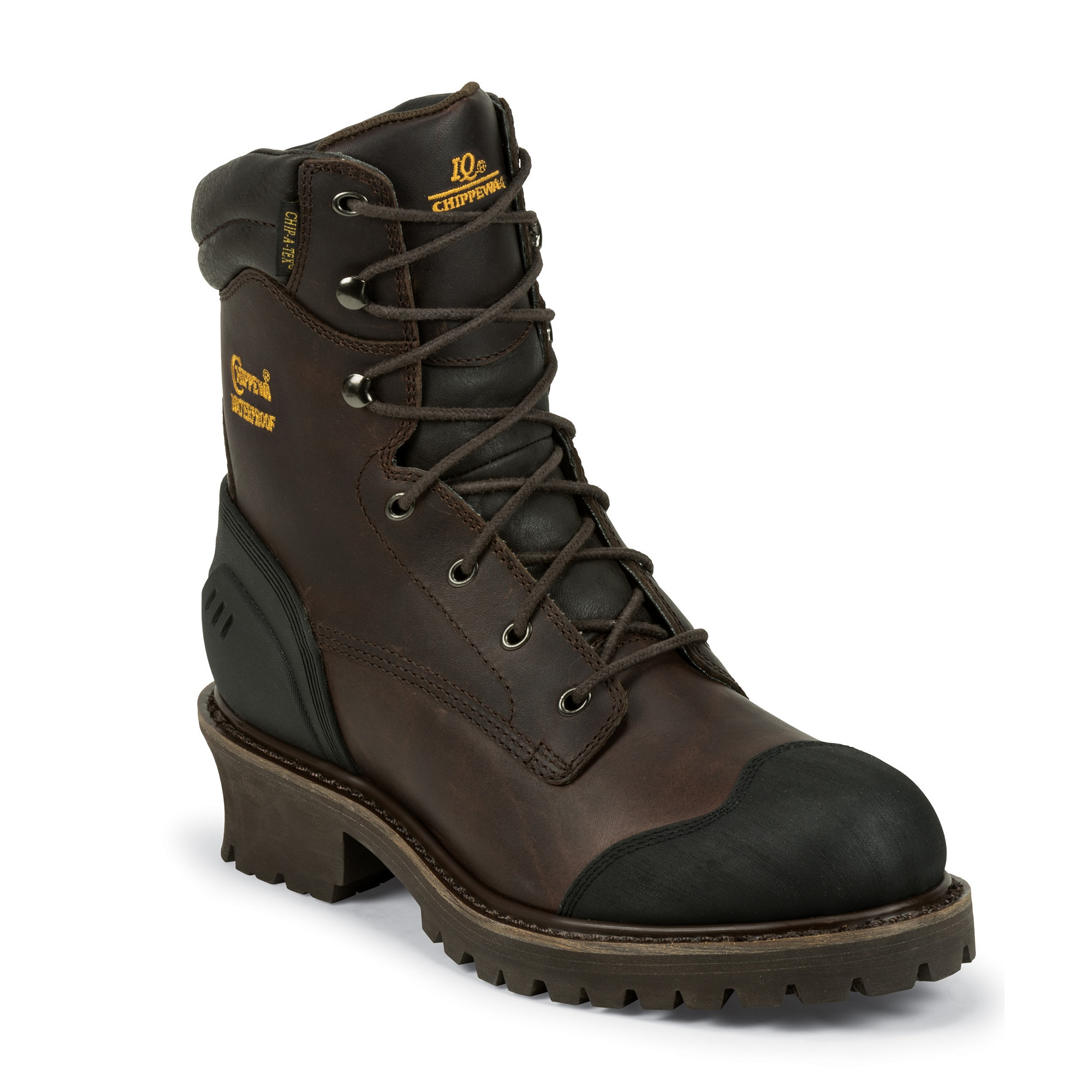 "Chippewa 8"" Oiled Waterproof Insulated Logger"