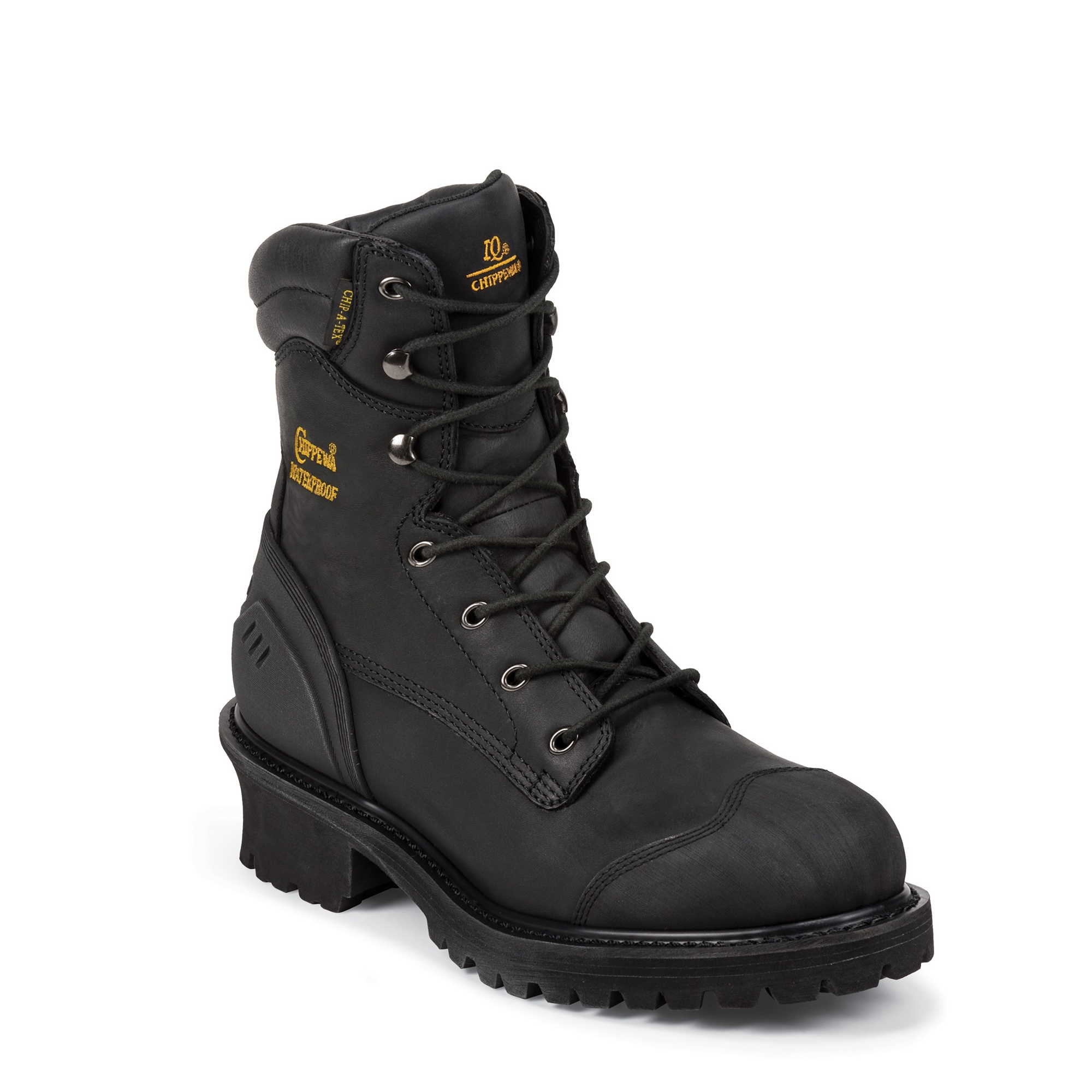 "Chippewa 8"" Black Oiled Waterproof Insulated"