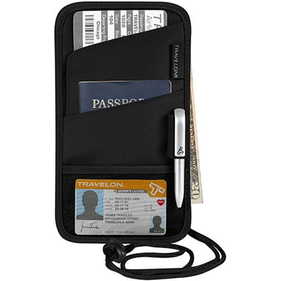 Travelon ID and Boarding Pass Holder 42763