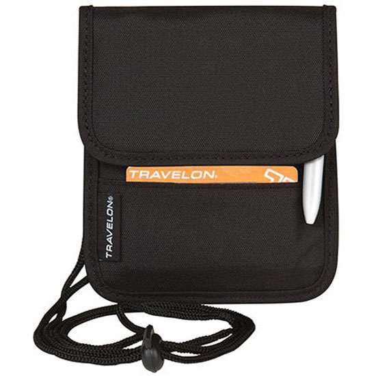 Travelon ID / Boarding Pass Holder with Snap Closure 42764