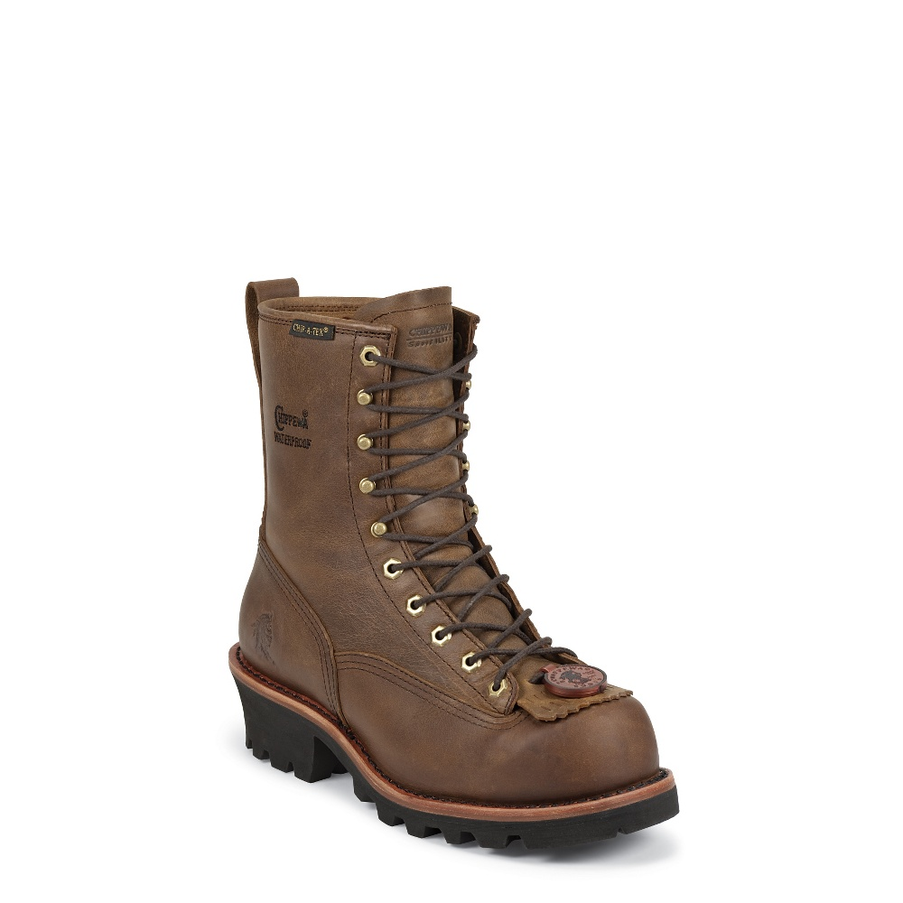 Chippewa 73103 Men's 8 Insulated Lace-To-Toe Logger