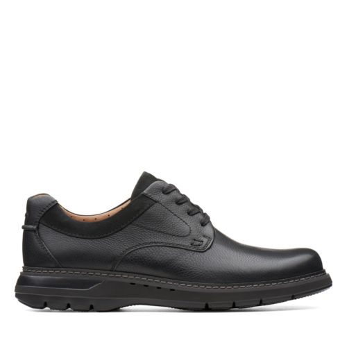 Clark's Men's Un Ramble Low - Black