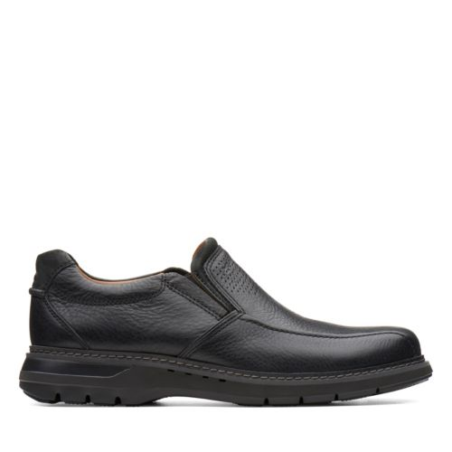 Clarks Men's Un Ramble Step - Black