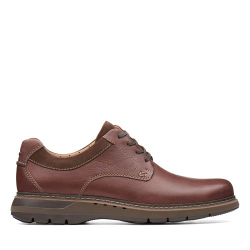 Clark's Men's Un Ramble Low - Mahogany
