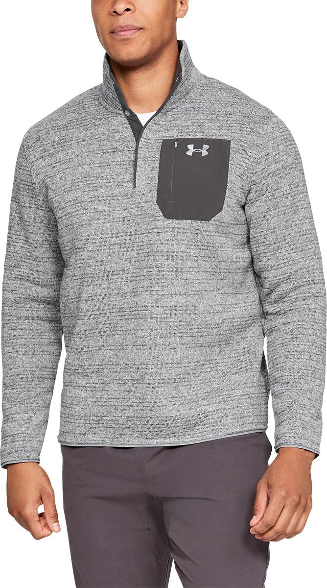 Under Armour UA Specialist Henley Full Zip Sweater  2.0 1316264-408 Academy