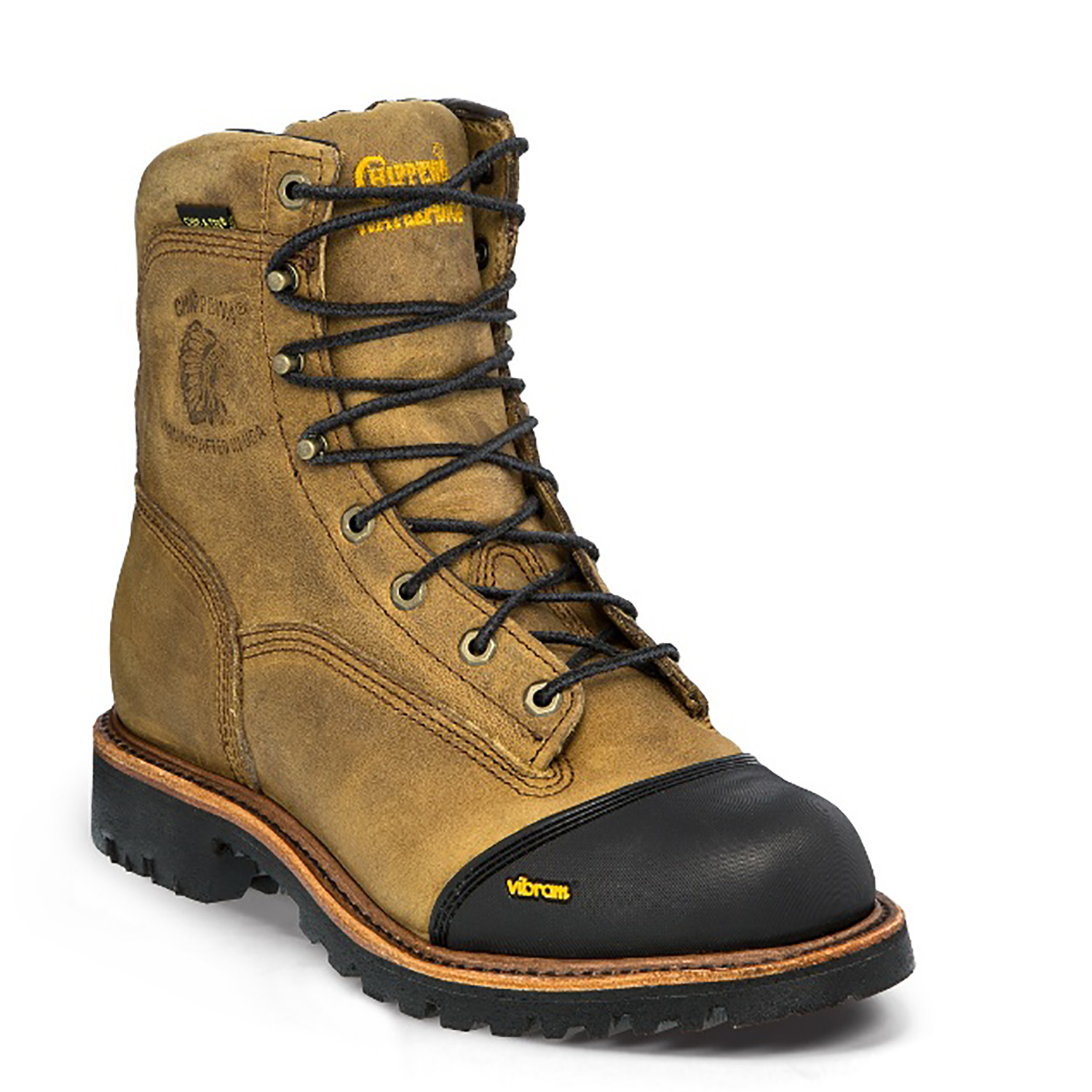 "Chippewa 8"" Insulated Plain Toe"