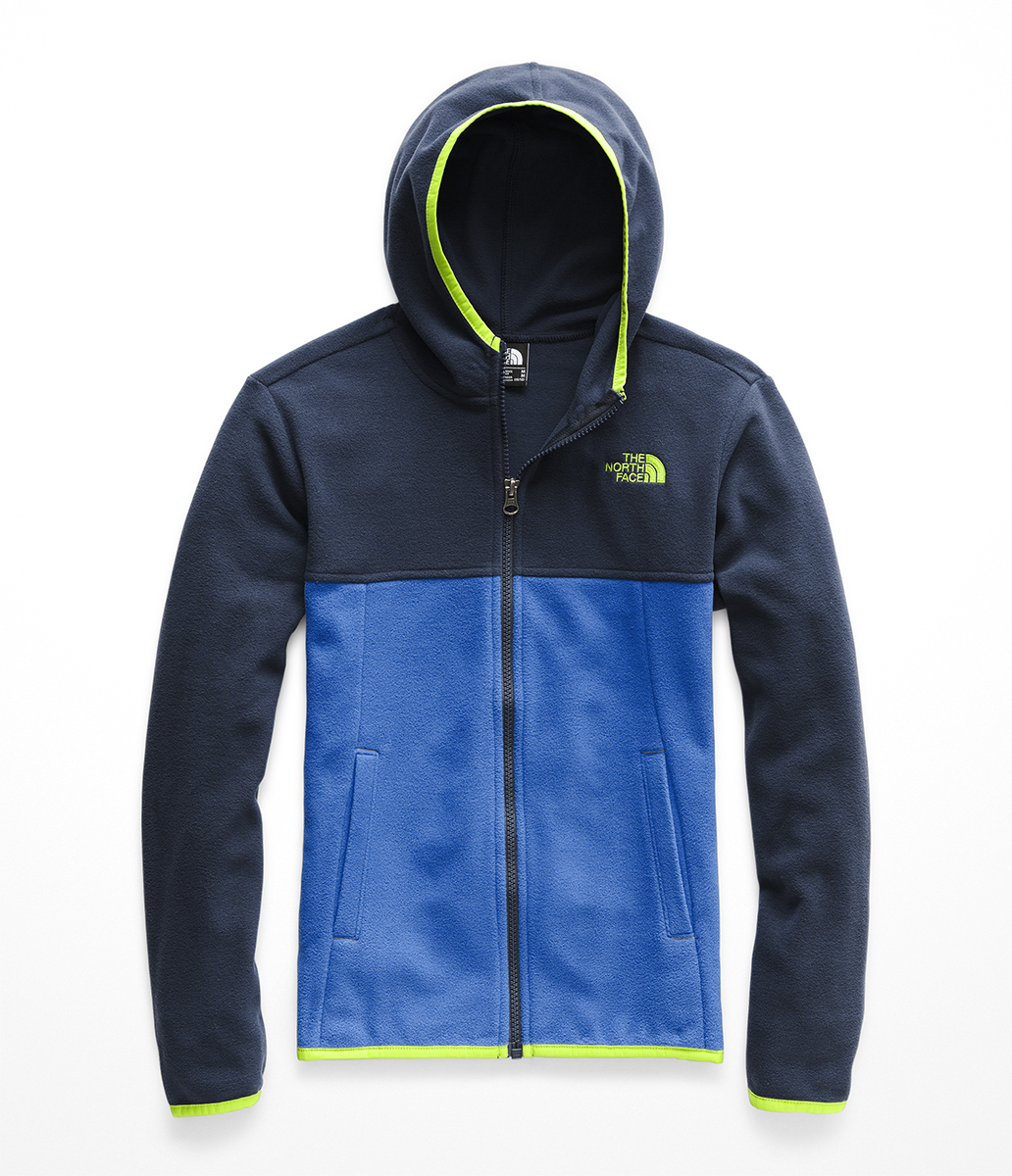 The North Face Boys' Glacier Full Zip Hoodie NF0A3NN8 S9