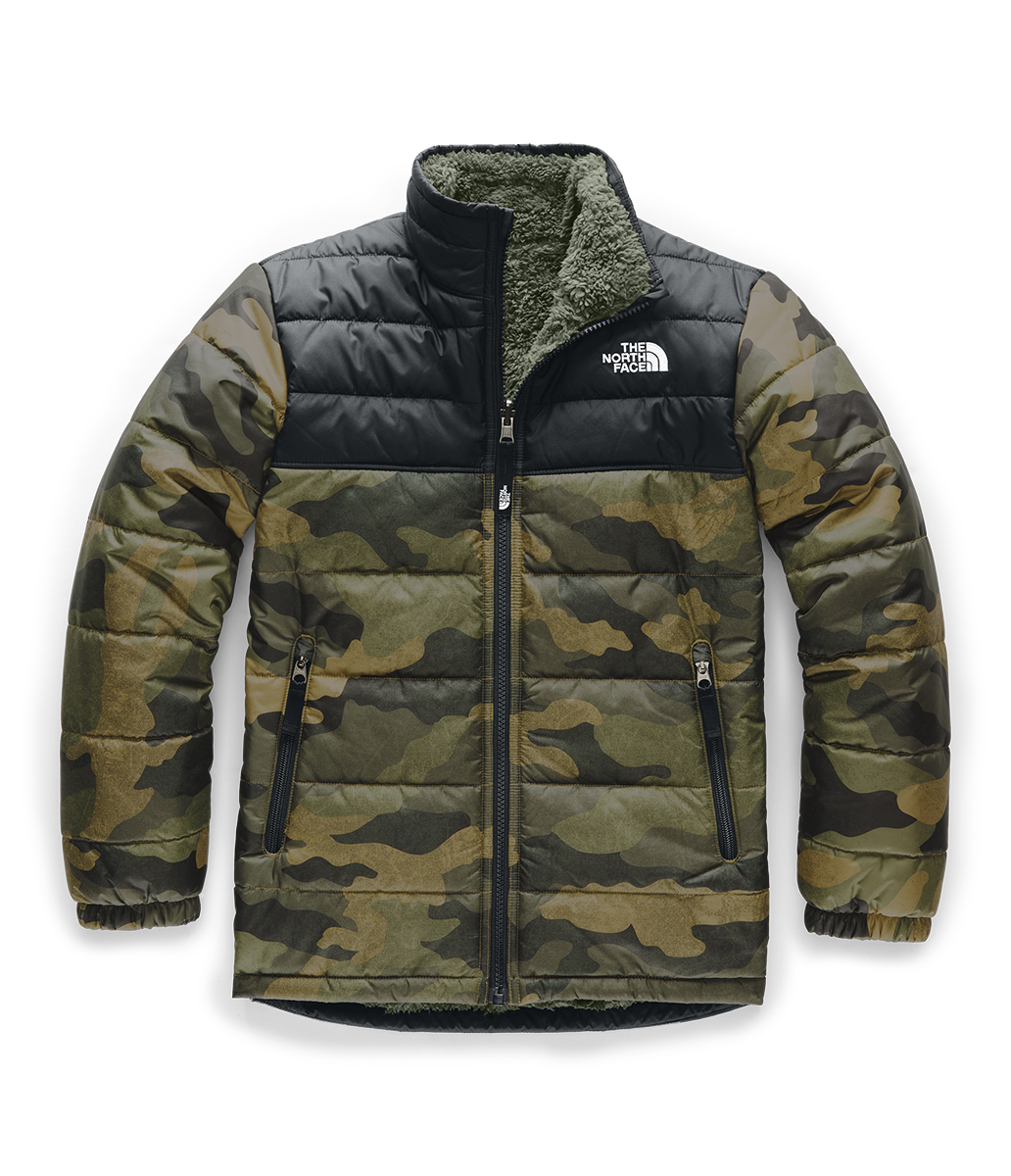 The North Face Boys' Reversible Mount Chimborazo Jacket NF0A34QJ F9