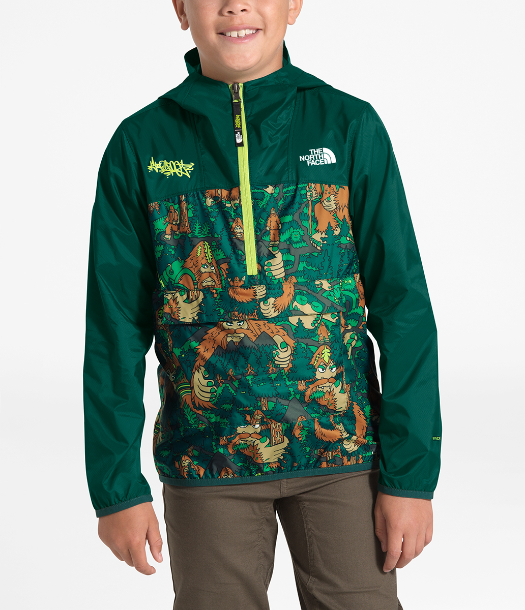 The North Face Boys' Novelty Fanorak NF0A3NNF F9