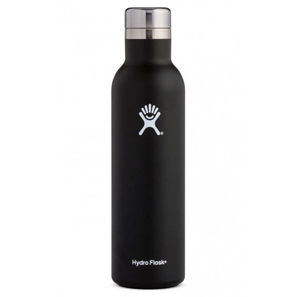 Hydro Flask Wine Bottle 25oz. Black