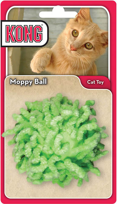 Kong Moppy Ball Active Cat Toy 269551