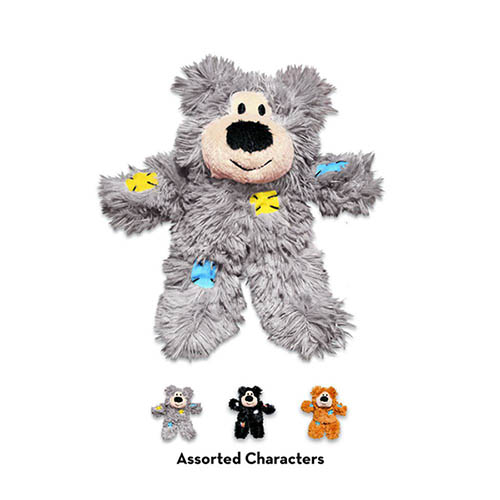 Kong Softies Patchwork Bear 269793