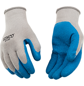 Kinco Poly-Cotton Latex Plam Glove