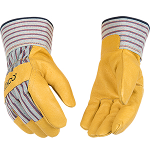 Kinco Premium Grain Pigskin Palm safety Cuff Glove