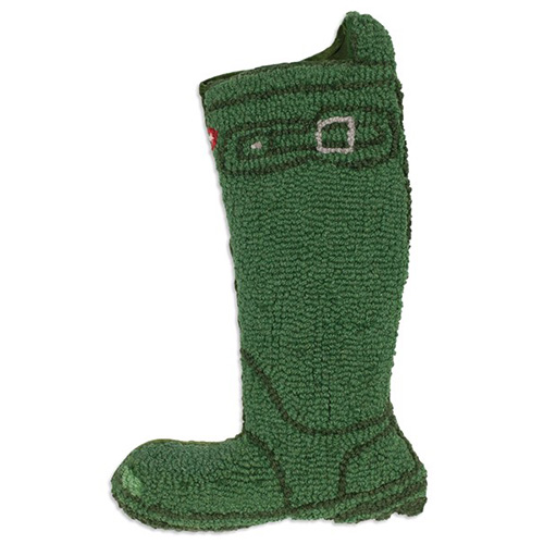 Chandler 4 Corners Green Wellie Boot Stocking