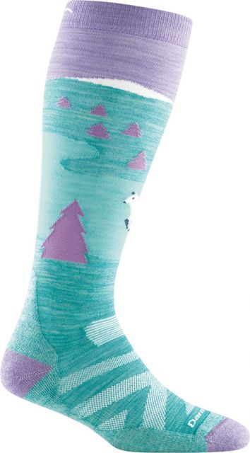Darn Tough Kids' Snow Fox OTC Cushion Socks