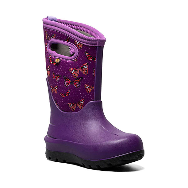 Bogs Kids' Neo Classic Butterflies Winter Boot