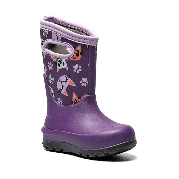 Bogs Kids' Neo Classic Kitties Winter Boot