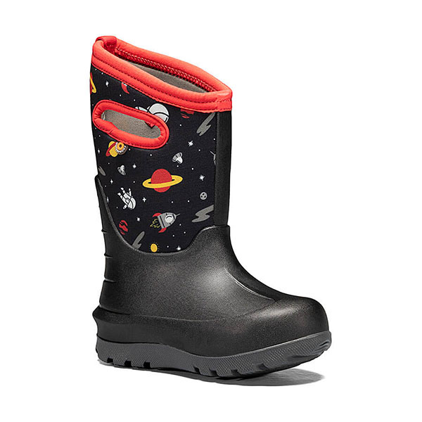 Bogs Kids' Neo Classic Spaceman Winter Boot
