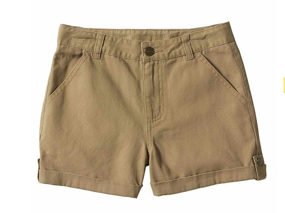 Carhartt Girls' Rugged Flex® Ripstop Convertible Shorts