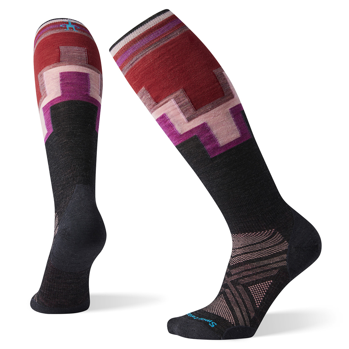 Smartwool Women's PhD® Ski Ultra Light Pattern Socks