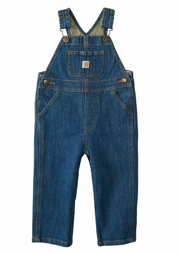 Carhartt Infant Washed Denim Bib Overalls