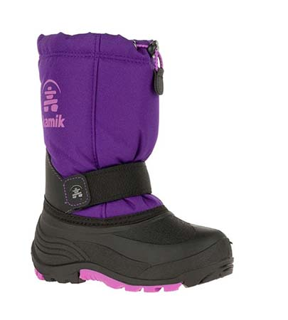 Kamik Kids' Rocket Winter Boot - Wide