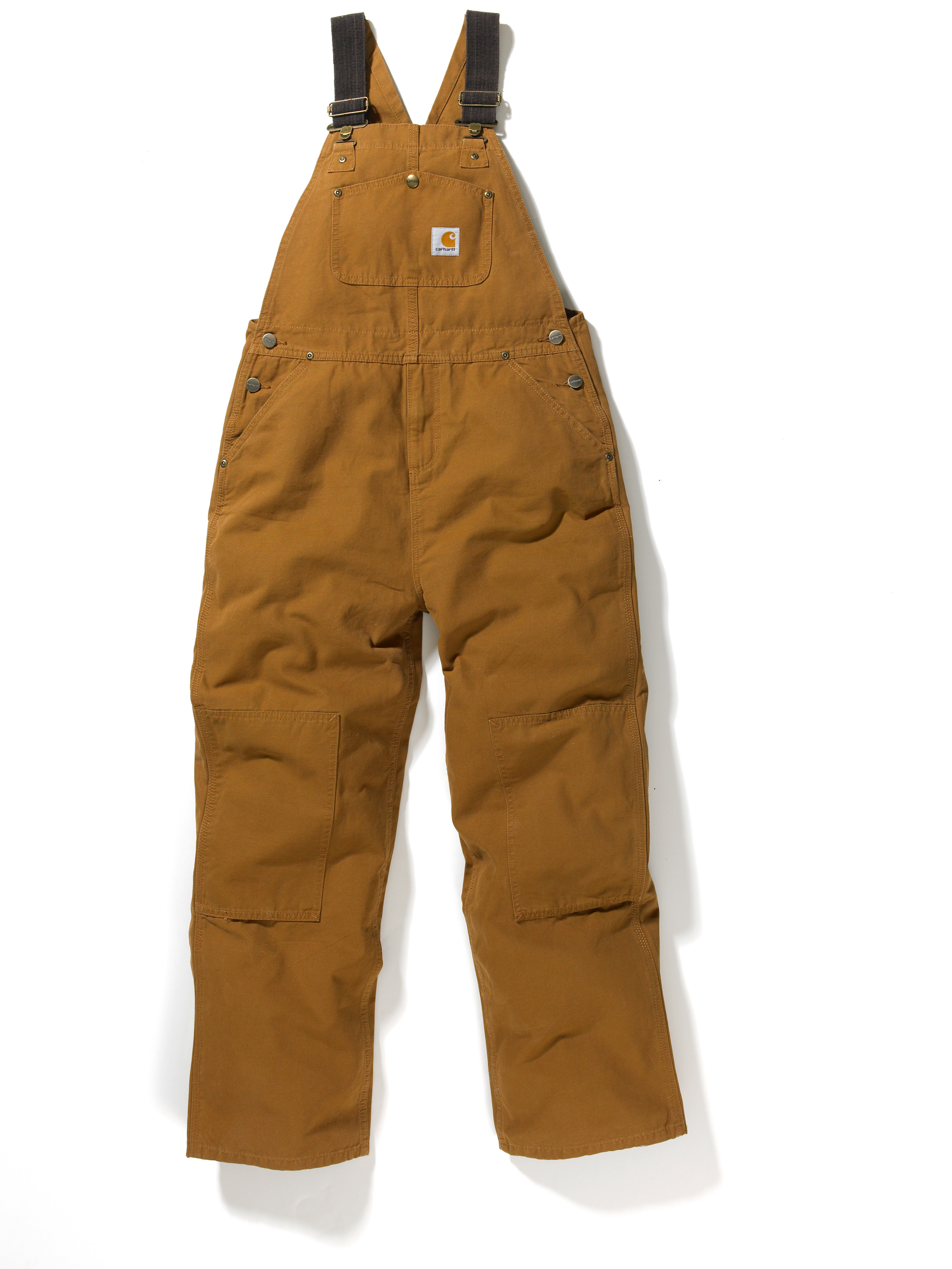 Carhartt Boys' Duck Washed Bib Overall Sizes 4-7 CM8603
