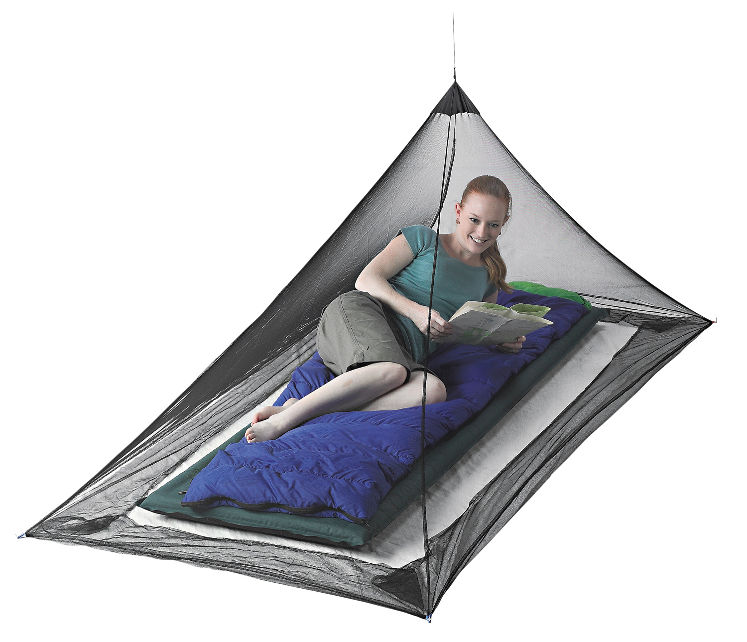 Sea to Summit Mosquito Pyramid Net Shelter Single 145