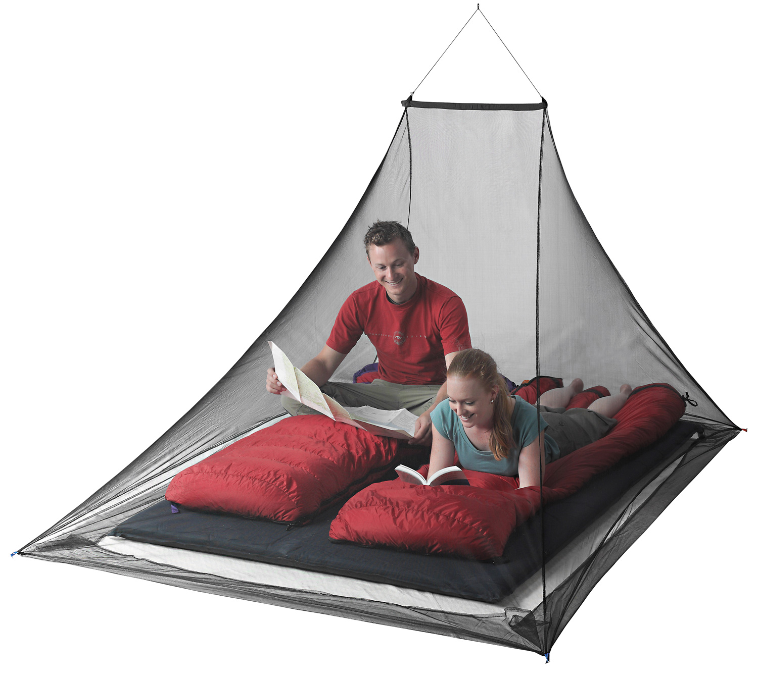Sea to Summit Mosquito Pyramid Net Shelter Double 147