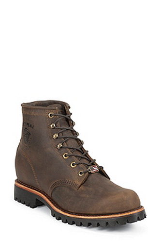 "Chippewa 6"" Chocolate Apache Lace Up 20080"