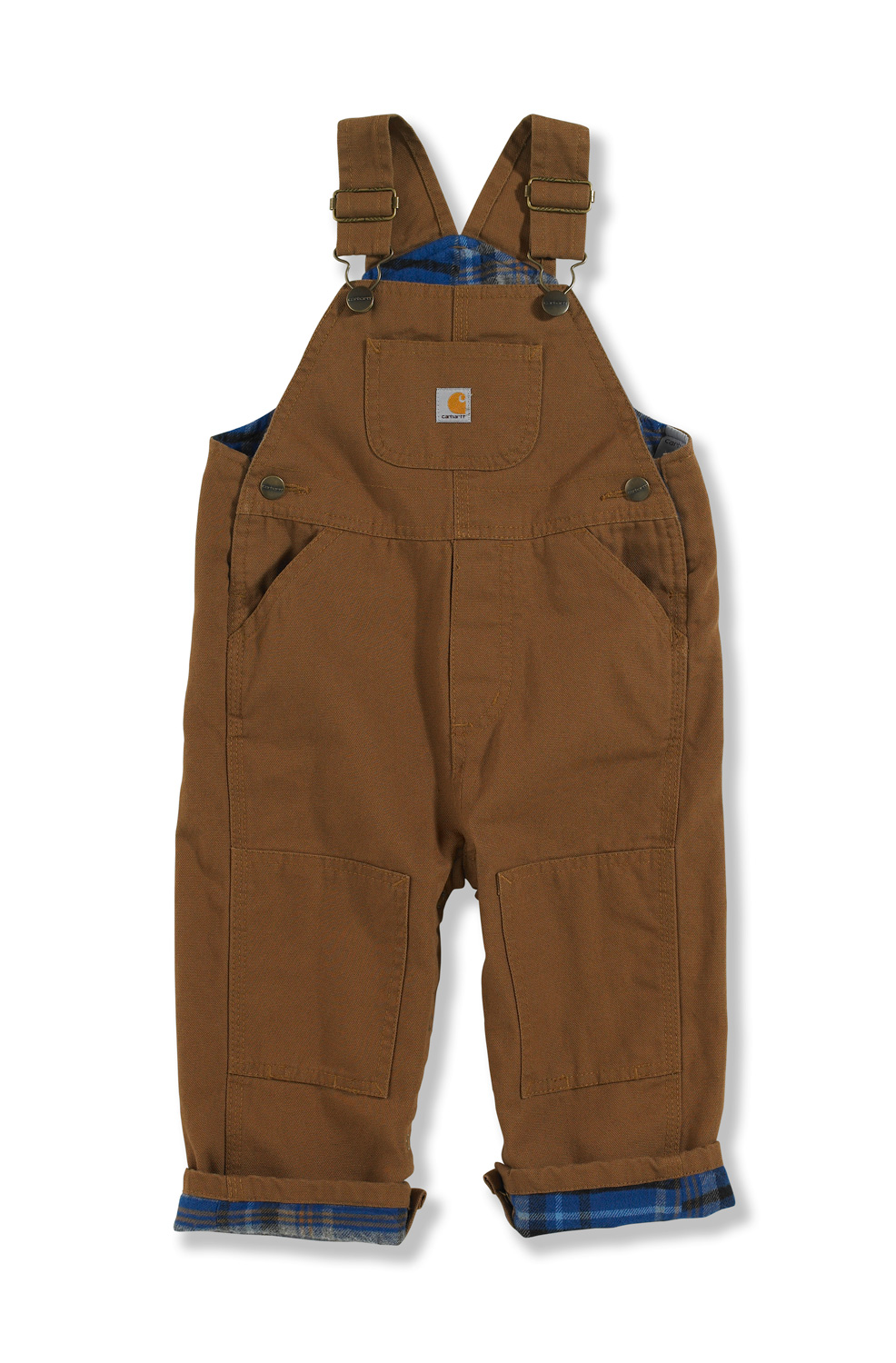 Carhartt Infant Boy's Washed Canvas Bib Overalls CM8645