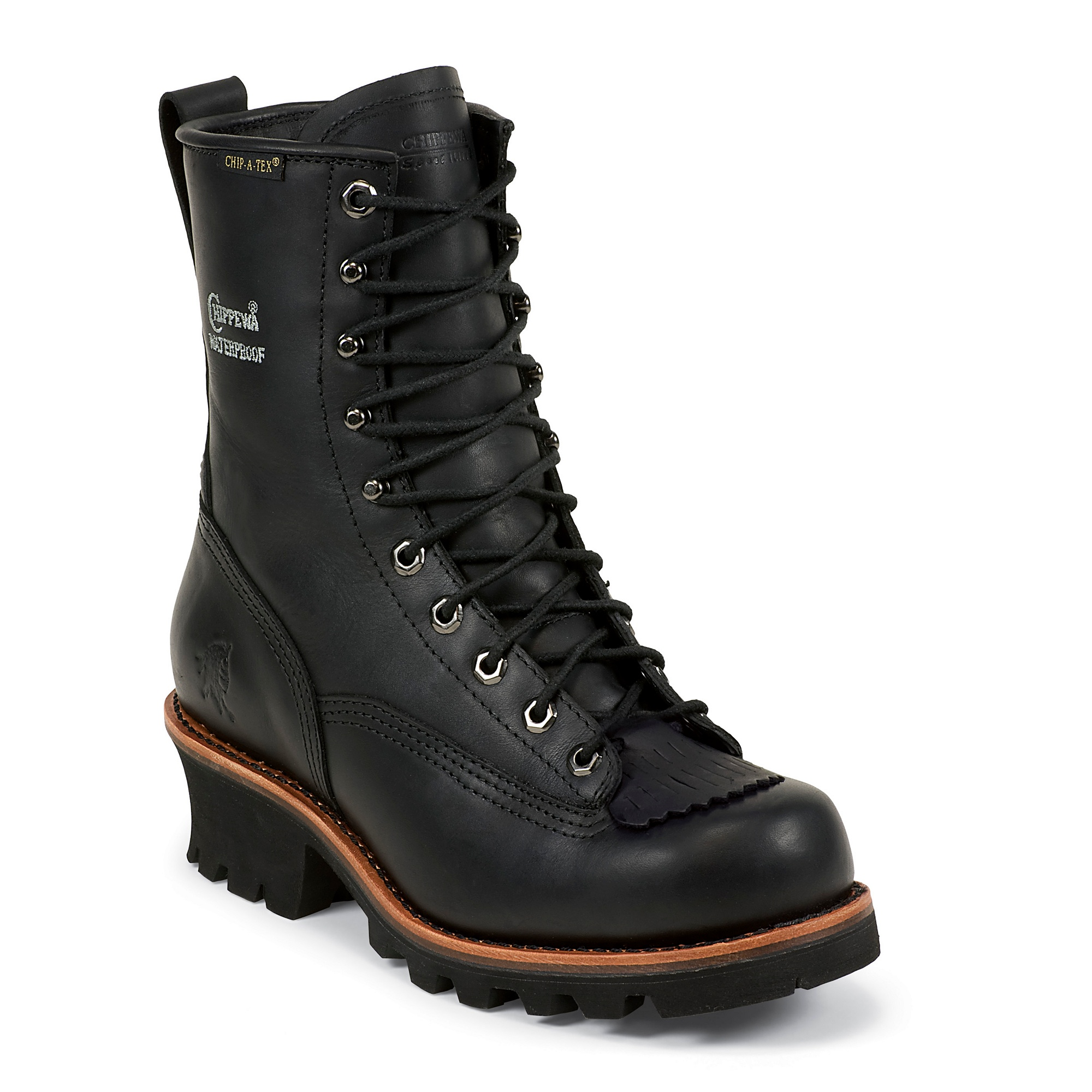 Chippewa 73114 Black Oiled Waterproof Logger